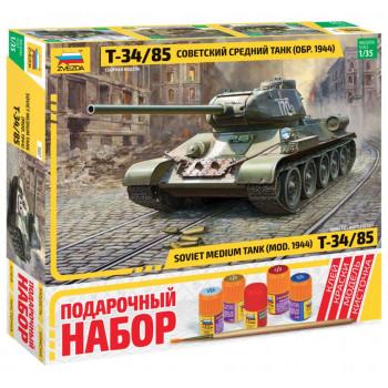 "zv3687П Советский средний танк ""Т-34/85"""