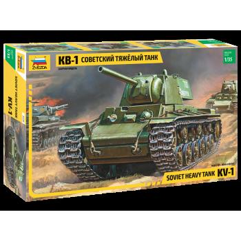 "zv3539 Советский танк ""КВ-1"""