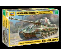 """Немецкий танк """"Королевский Тигр"""" с башней Хеншель"""