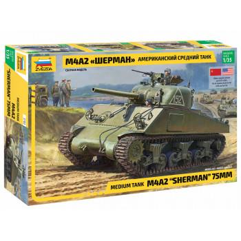 "zv3702 Американский средний танк М4А2 ""Шерман"""