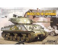 TS-043 1/35 U.S. Medium Tank M4A3(76)W Sherman