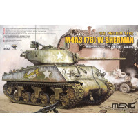TS-043 1/35 U.S. Medium Tank M4A3(76)W Sherman