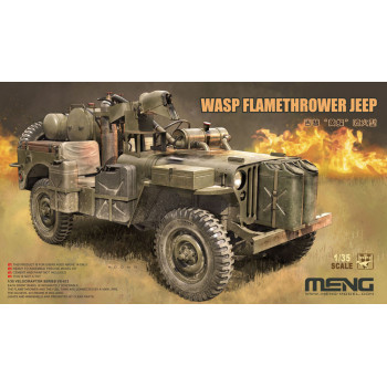 Сборная модель VS-012 1/35 MB Military Vehicle WASP Flamethrower от MENG