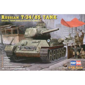 84809 Советский средний танк Т-34/85 (1944г. Литая башня) (1:48, Hobby Boss)