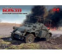 Sd.Kfz.223, Германский бронеавтомобиль радиосвязи ІІ МВ в2