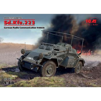 Sd.Kfz.223, Германский бронеавтомобиль радиосвязи ІІ МВ в2 сборная модель