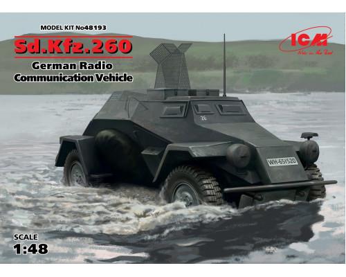 Sd.Kfz.260, Германский бронеавтомобиль радиосвязи ІІ МВ в1