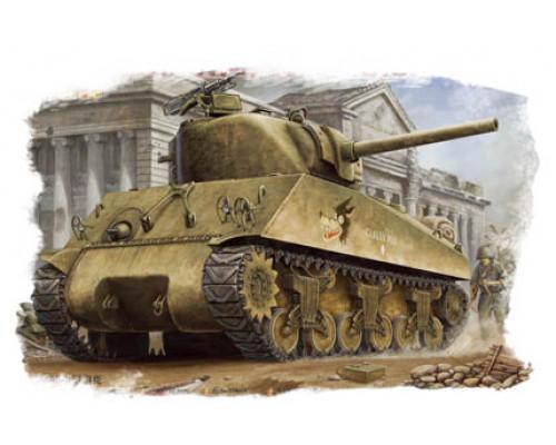 84803 Американский танк M4A3 Sherman (1:48, Hobby Boss)