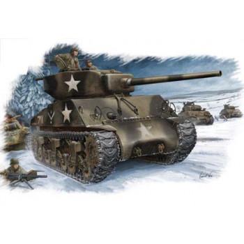 84805 Американский танк M4A3 (76W) Sherman (1:48, Hobby Boss)