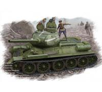 84807 Танк Т34/85 (1944г. Цельно-литая башня) (1:48, Hobby Boss)