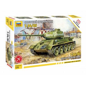 zv5039 Советский средний танк Т-34/85 (без клея)
