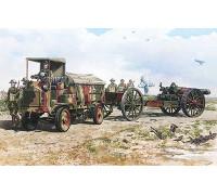Бронеавтомобиль FWD Model B 3 ton & BL 8-inch howitzer Mk.VI