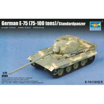 07125 German E-75 (75-100 tons)/Standardpanzer