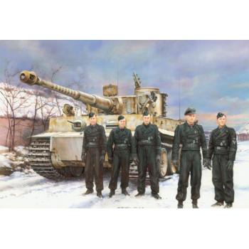 7575 Dragon Pz Kpfw VI Тигр тяжелый танк Виттмана, 1/72