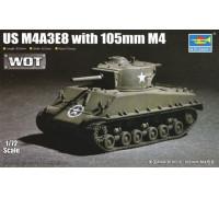 07168 Американский танк M4A3E8 (1:72,Trumpeter)