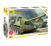 "Советская САУ ""СУ-100"""