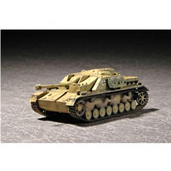 07261 Немецкая самоходная артиллерийская установка «Штурмгешютц» IV (1:72, Trumpeter) от Trumpeter