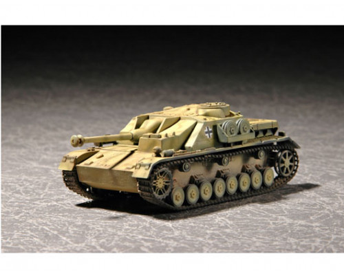 07261 Немецкая самоходная артиллерийская установка «Штурмгешютц» IV (1:72, Trumpeter)