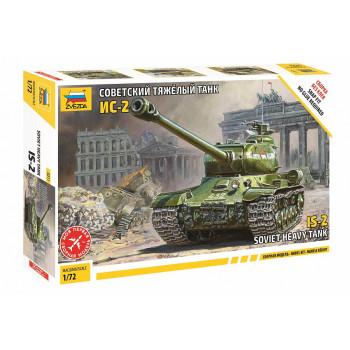 zv5011 Советский танк ИС-2 (без клея)