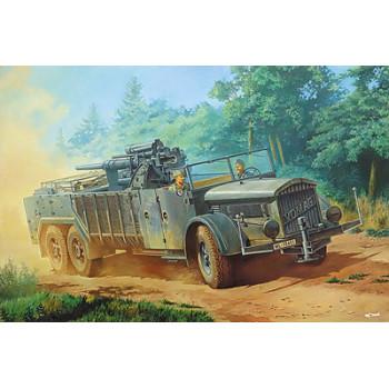 Rod727 Бронеавтомобиль VOMAG 7 or 660 mit 8,8 cm Flak