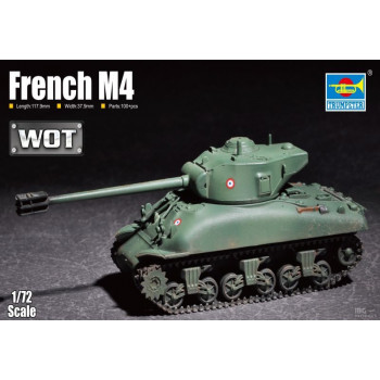 07169 French M4 от Trumpeter
