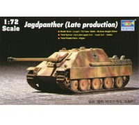 07272 Тяжёлая немецкая противотанковая САУ поздняя (1:72, Trumpeter)