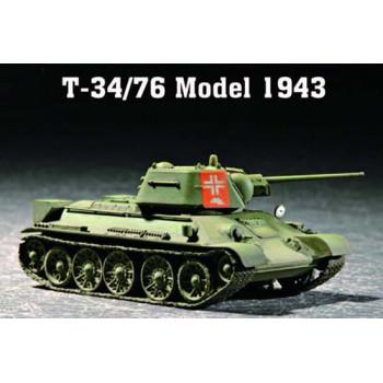 07208 Trumpeter 1/72 T-34/76 Model 1943 от Trumpeter