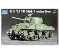 07223 Танк M4 Mid-Production (1:72, Trumpeter)