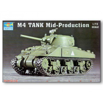 07223 Танк M4 Mid-Production (1:72, Trumpeter) от Trumpeter