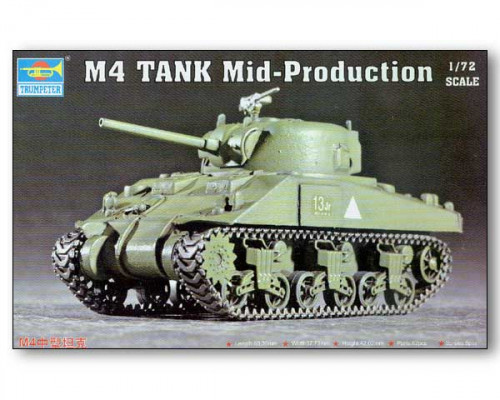 07223 Танк M4 Mid-Production (1:72, Trumpeter)