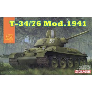 7590 Dragon Т-34-76 модификация 1941, 1/72