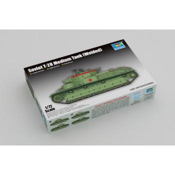 Советский средний танк Т-28 от Trumpeter