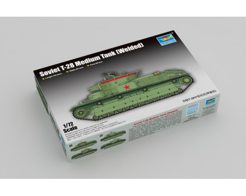 07150 Trumpeter Советский средний танк Т-28, 1/72