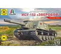 САУ Советская самоходная артиллерийская установка ИСУ-152 (1:72)