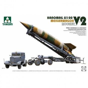 5001 1/72 WWII German V-2 Rocket Transporter/Erector