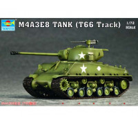 07225 Танк M4A3E8(T66 Track) (1:72, Trumpeter)
