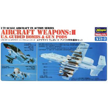 H35002 Hasegawa Набор вооружения Aircraft weapons II (1:72)