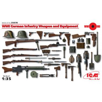 Вооружение и снаряжение Германской пехоты І МВ сборная модель