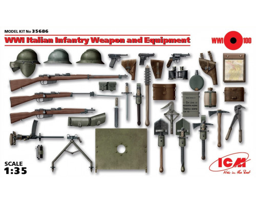 Оружие и снаряжение пехоты Италии 1 МВ