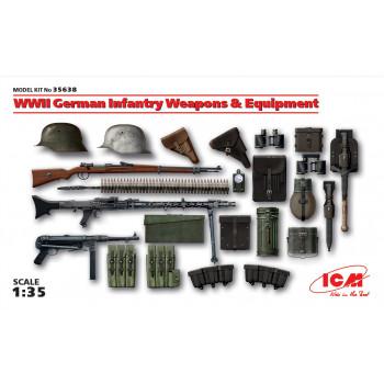 Оружие и снаряжение Германской пехоты ІІ МВ сборная модель