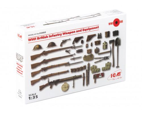 35683 ICM Оружие и снаряжение пехоты Великобритании 1МВ, 1/35
