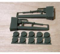 Пулеметы ДТ(2шт) и диски к ним (10шт)
