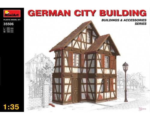 Немецкий городской дом