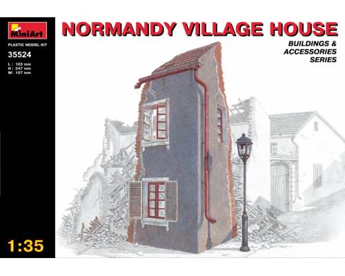 Нормандский деревенский дом