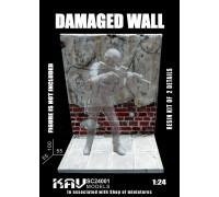 """Основание для фигур """"Поврежденная стена"""""""