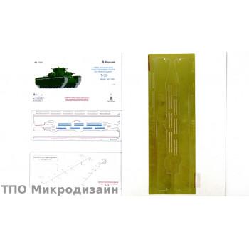 Т-35. Надгусеничные полки (Звезда)