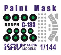 Окрасочная маска на C-133 (Roden 333)