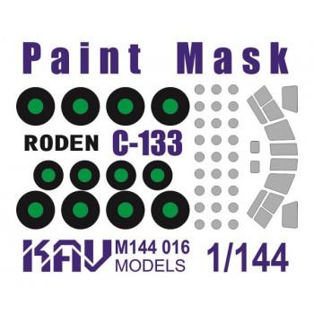 KAV M144 016 Окрасочная маска на C-133 (Roden 333) KAV models