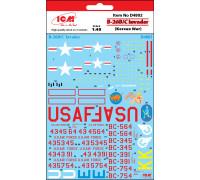 """Декаль B-26B/C """"Инвейдер""""(Война в Корее)"""