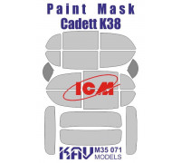 Окрасочная маска на остекление Kadett K38 (ICM 35478, 35480)